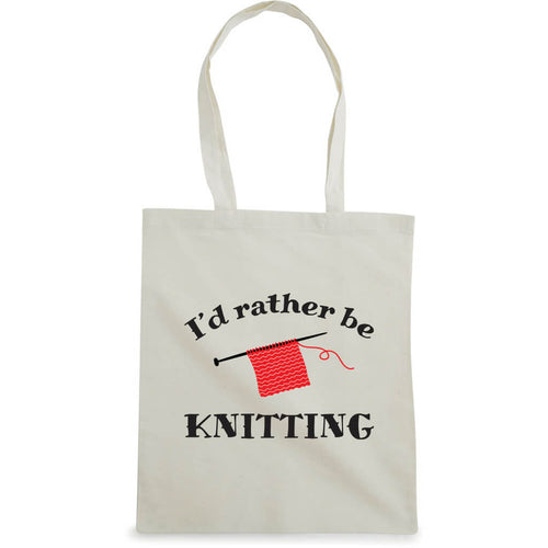 I'd rather be knitting bærenett natur