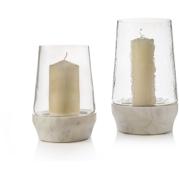 Chelsea Marble Hurricane Candle Hurricane home-deco-london.myshopify.com