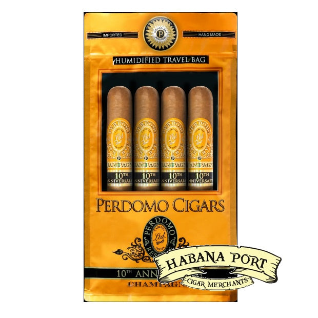 Perdomo 4pack Assortment Champagne Epicure 6x54