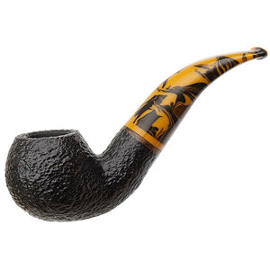Savinelli Tigre Rusticated Black 642 6mm