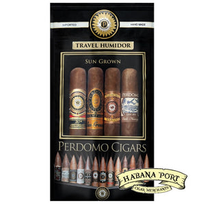 Perdomo 4pack Assortment Sungrown Toro 6x54