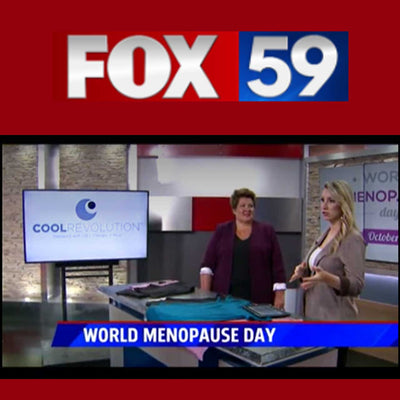 FOX59: COOLREVOLUTION TO CELEBRATE WORLD MENOPAUSE DAY