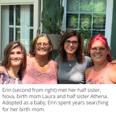Life became complete after Indiana woman finds her birth mom