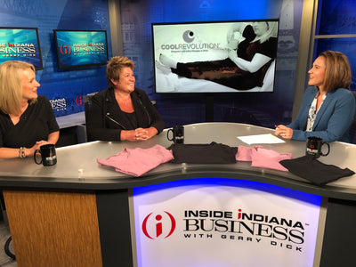 CoolRevolution PJs featured on Inside Indiana Business