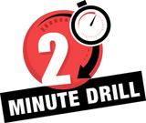 Logo for 2-minute drill