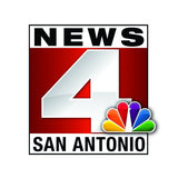 Logo of San Antonio News 4, which featured CoolRevolution PJs for women