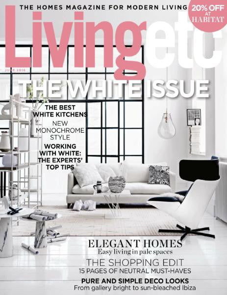 See us in Living etc June issue