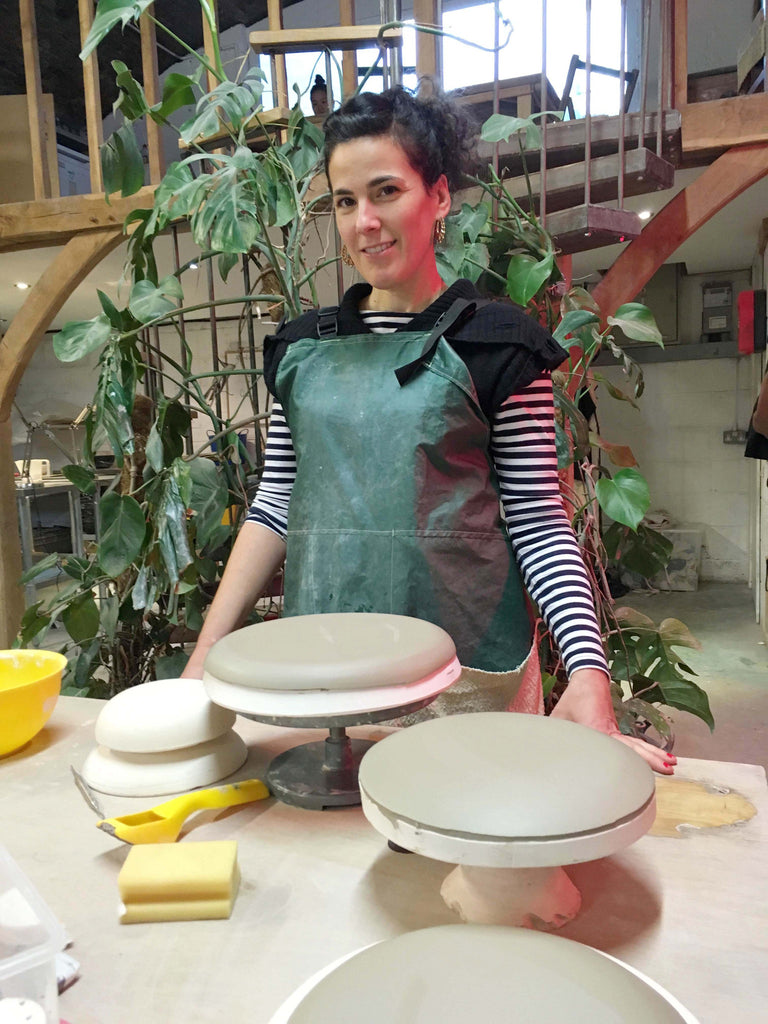 Profile Interview... 60 seconds with ceramicist Noa Weintraub