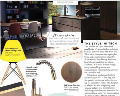 Ecora Oak Tanzas in Sainsburys Magazine