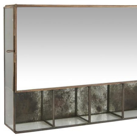 Small Mirrored Wall Cabinet