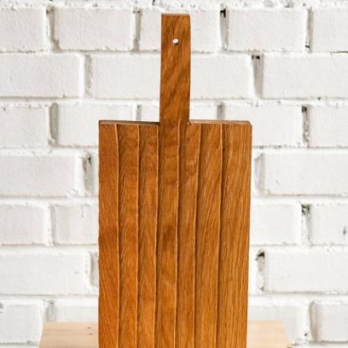 FOREST Long Oak Cutting Board with handle