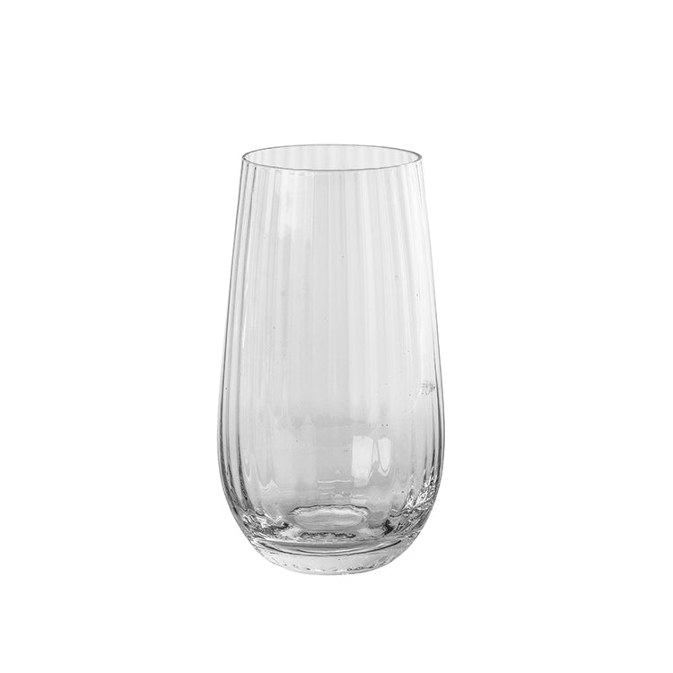 Grooved Clear Glass