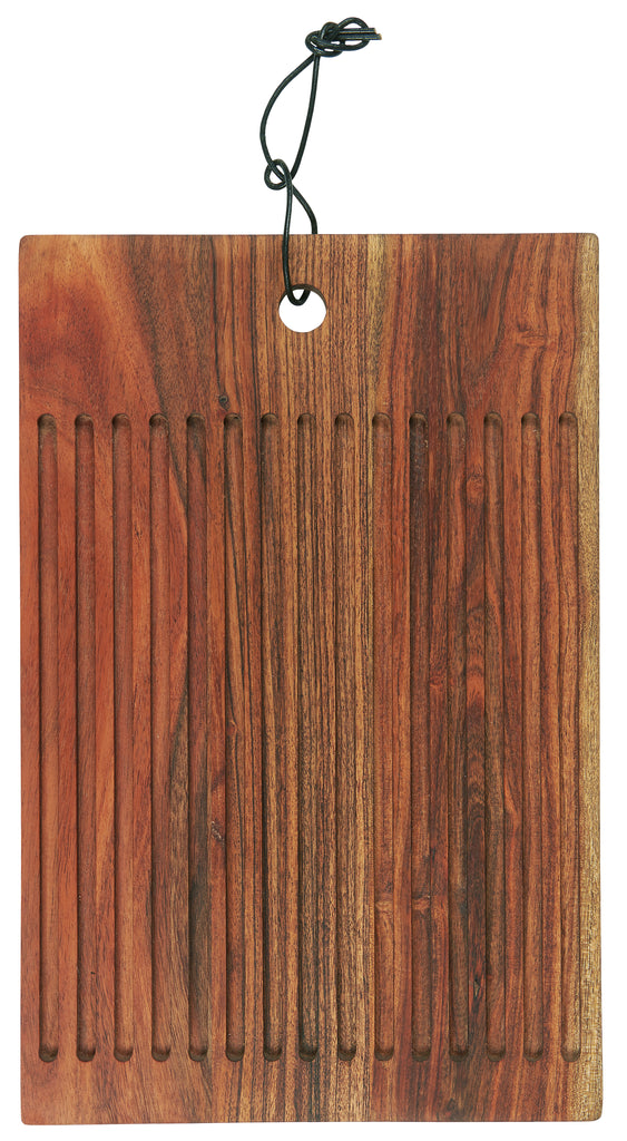 Chopping Board With Grooves
