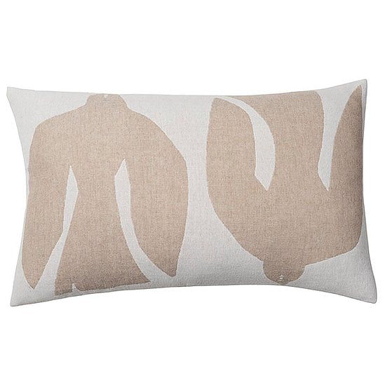Merino Wool Blend Cushion - Early Bird Sand