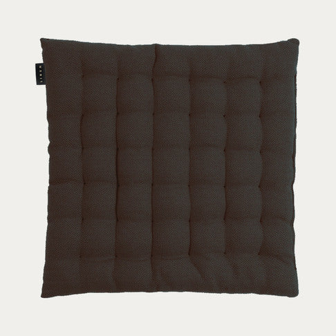 Seat Cushion in Pepper Black