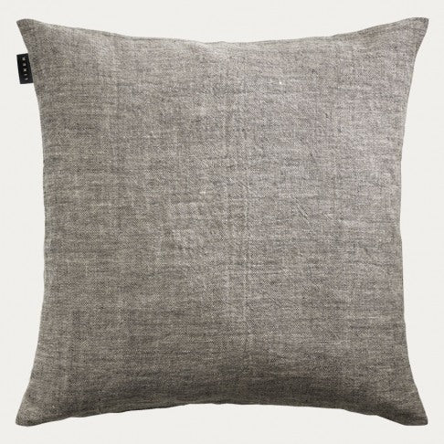 Linen Cushion 50x50 - Charcoal Grey