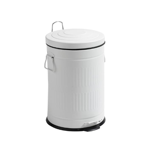 Rubbish Bin - White