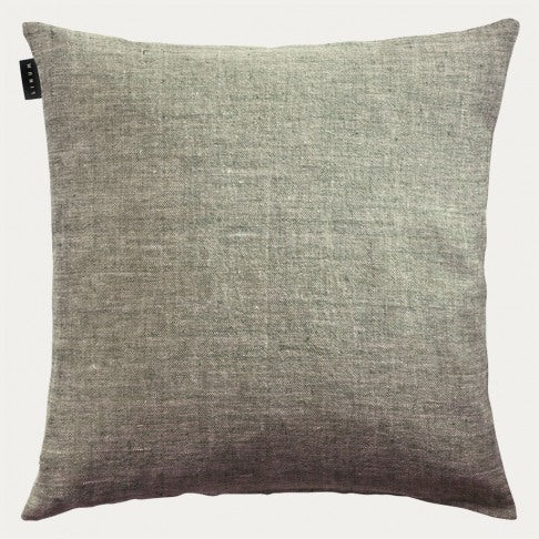 Linen Cushion 50x50 - Olive Green