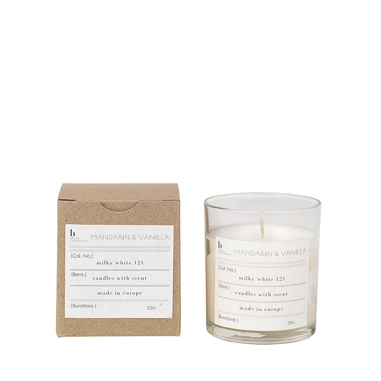 Scented Candles - Mandarin-Vanilla