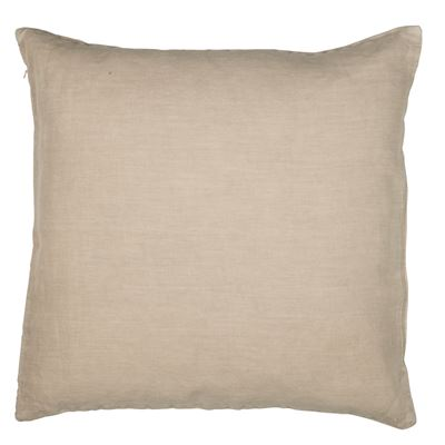 Linen Cushion 50x50 - Taupe