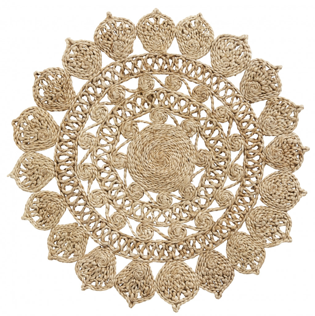 Decorative Jute Placemat