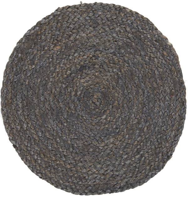 Jute Placemat - Dark Grey