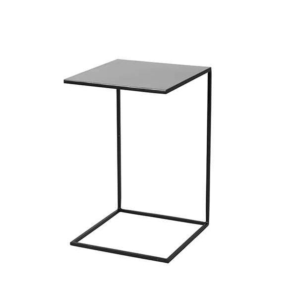 Metal and Enamel Side Table (Low/Wide)