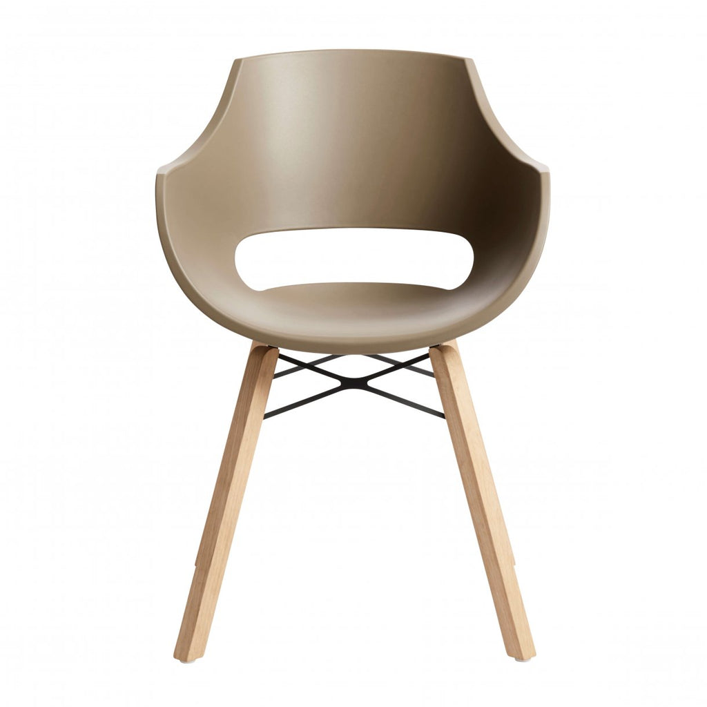 SHELL Chair - Cafe Latte