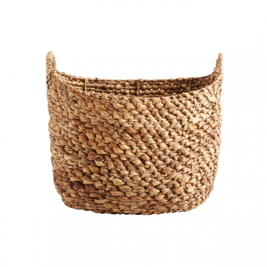 Hyacinth Basket with Handles