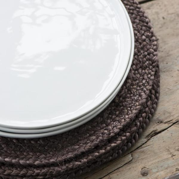 Jute Placemat - Dark Brown