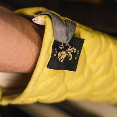 Oven Mitts - Tuscan Yellow