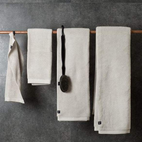 MAXIME Organic Towel - Mother of Pearl