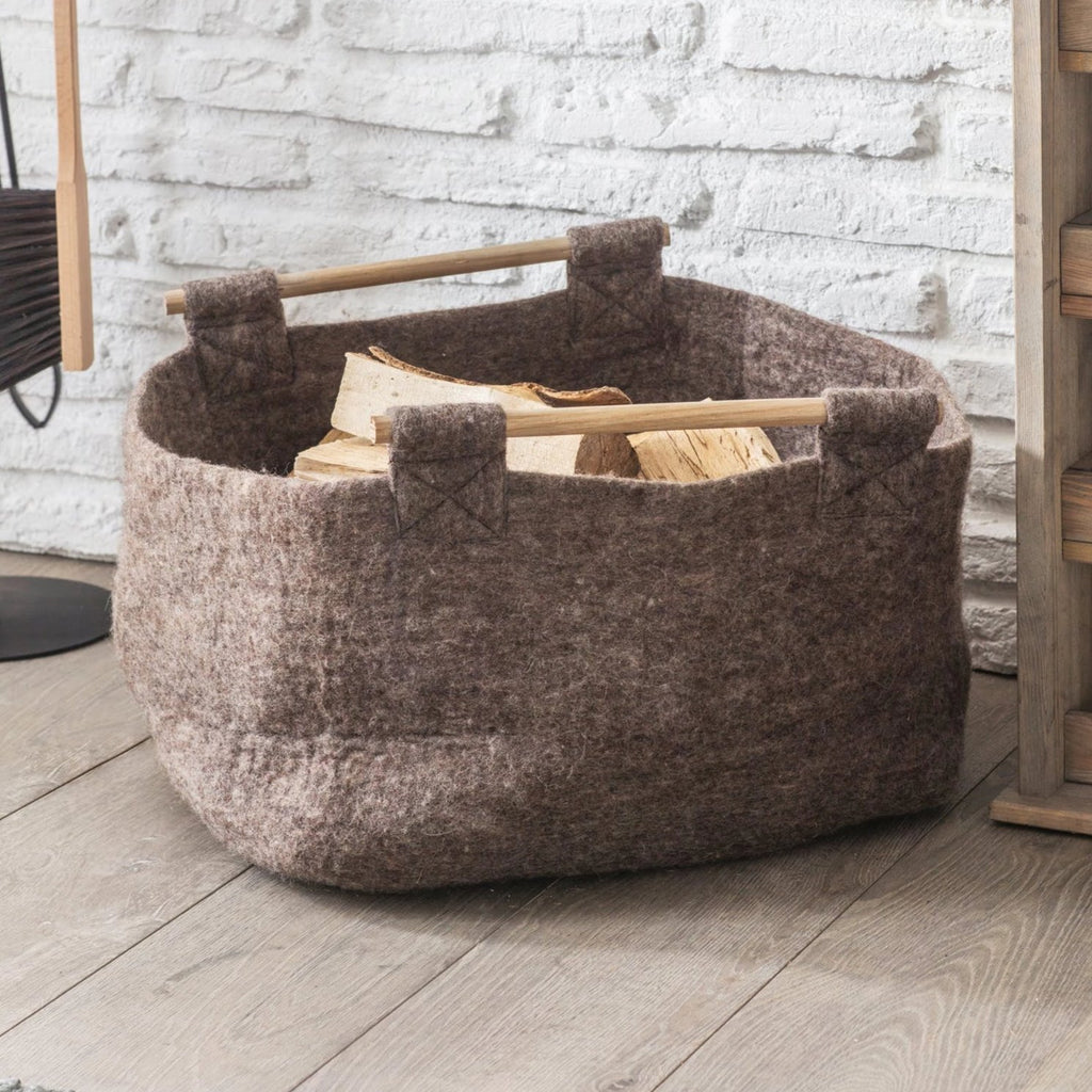 Fairtrade Wool Basket
