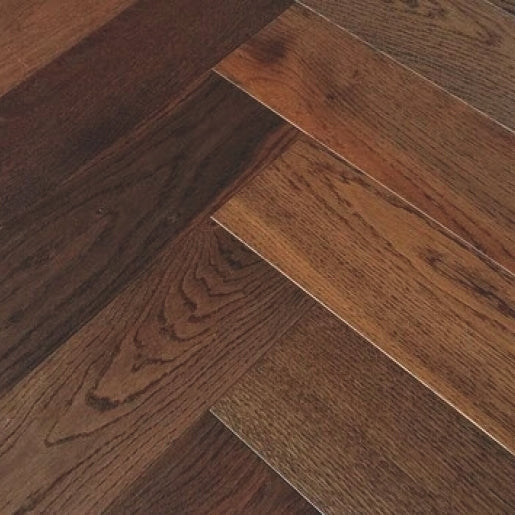 Oak Whitechapel Dark Smoked Herringbone
