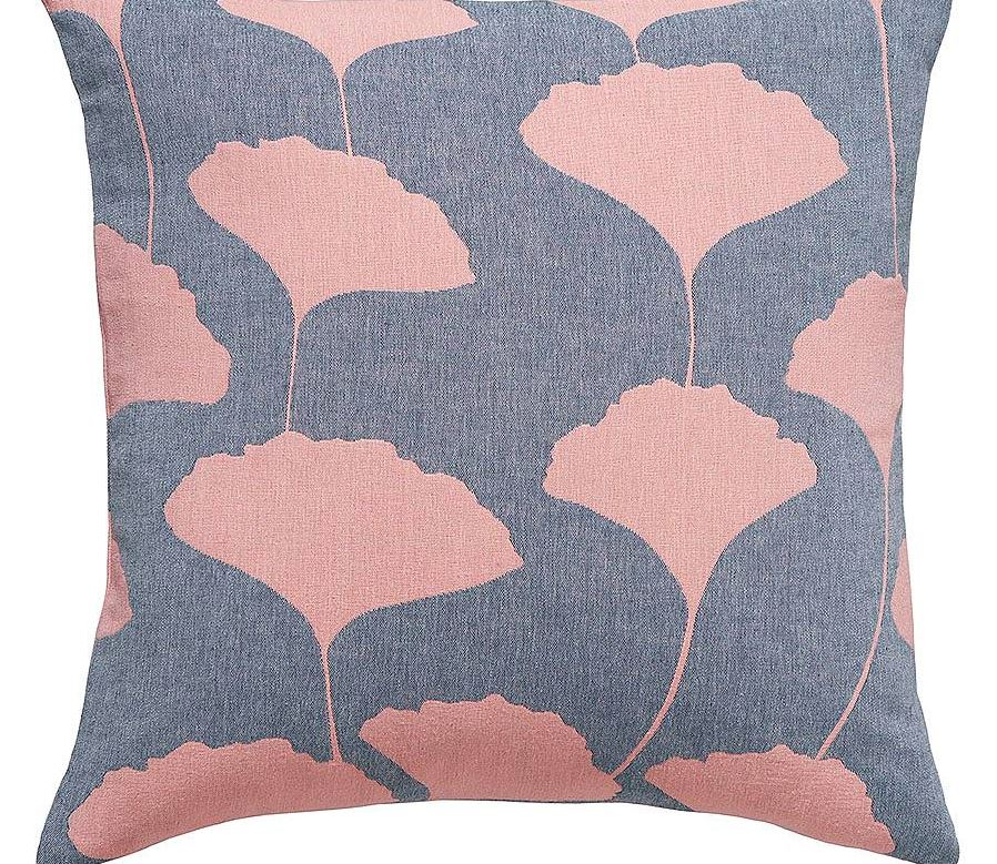 Recycled Cotton Cushion - Ginko Denim