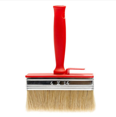Paint brush - Medium short bristled plastic