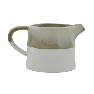 Multi-Colour Stoneware Milk Jug