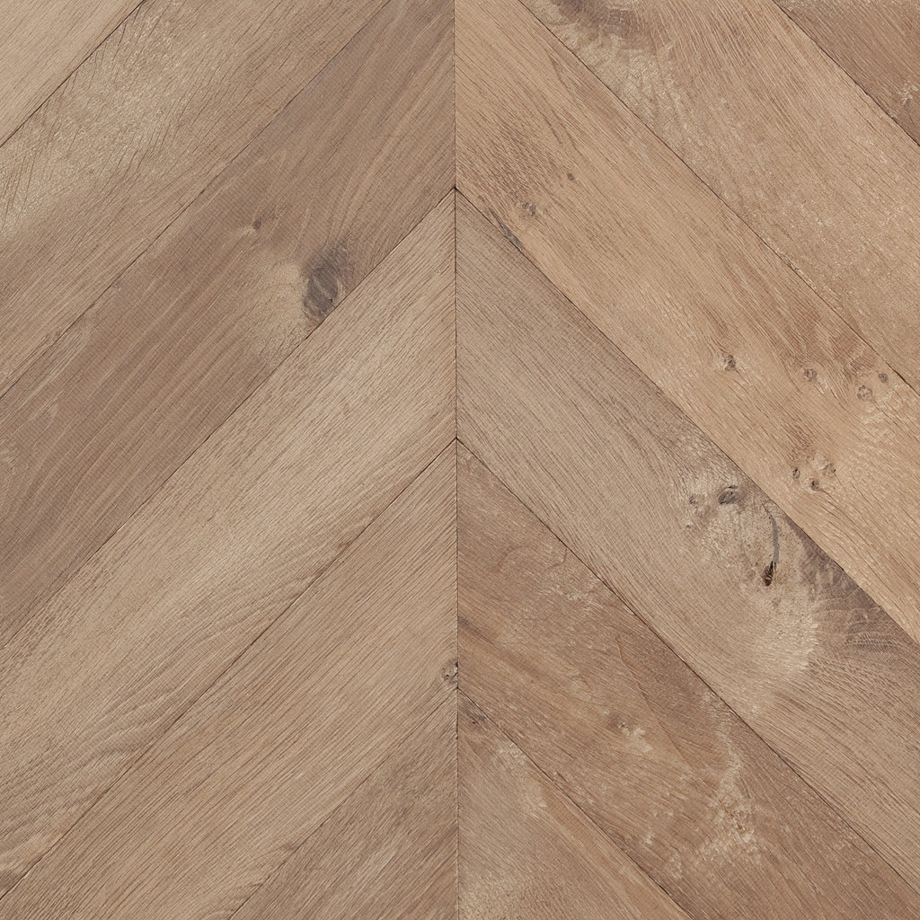 Oak Hampstead Brown Chevrons