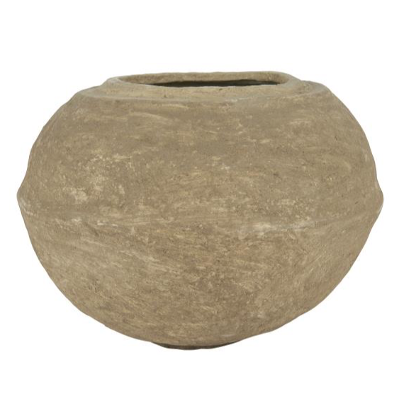 Paper Maché Decorative Pot