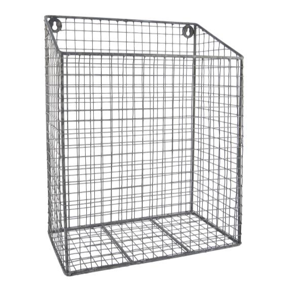 Wall-hung Metal Basket