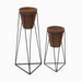 LIAT Terracotta Planter with Stand