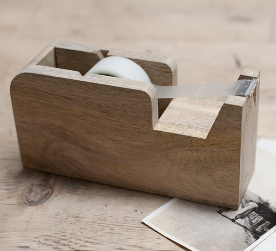 Tape Dispenser - Wood