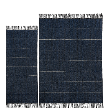 Brielle Plastic Rug - Black