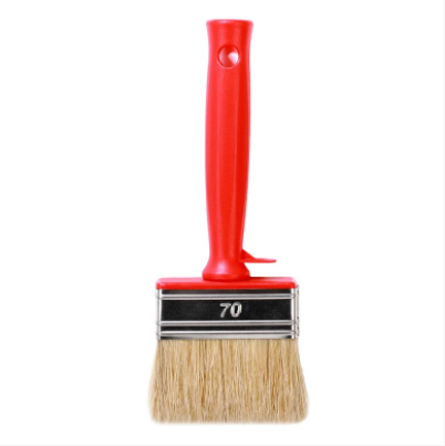Paint brush - Small short bristled plastic