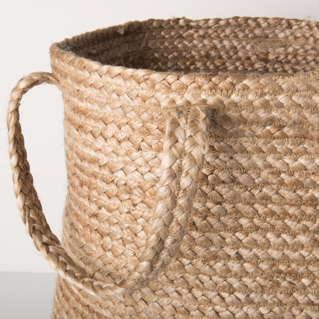 Jute Tall Storage Basket