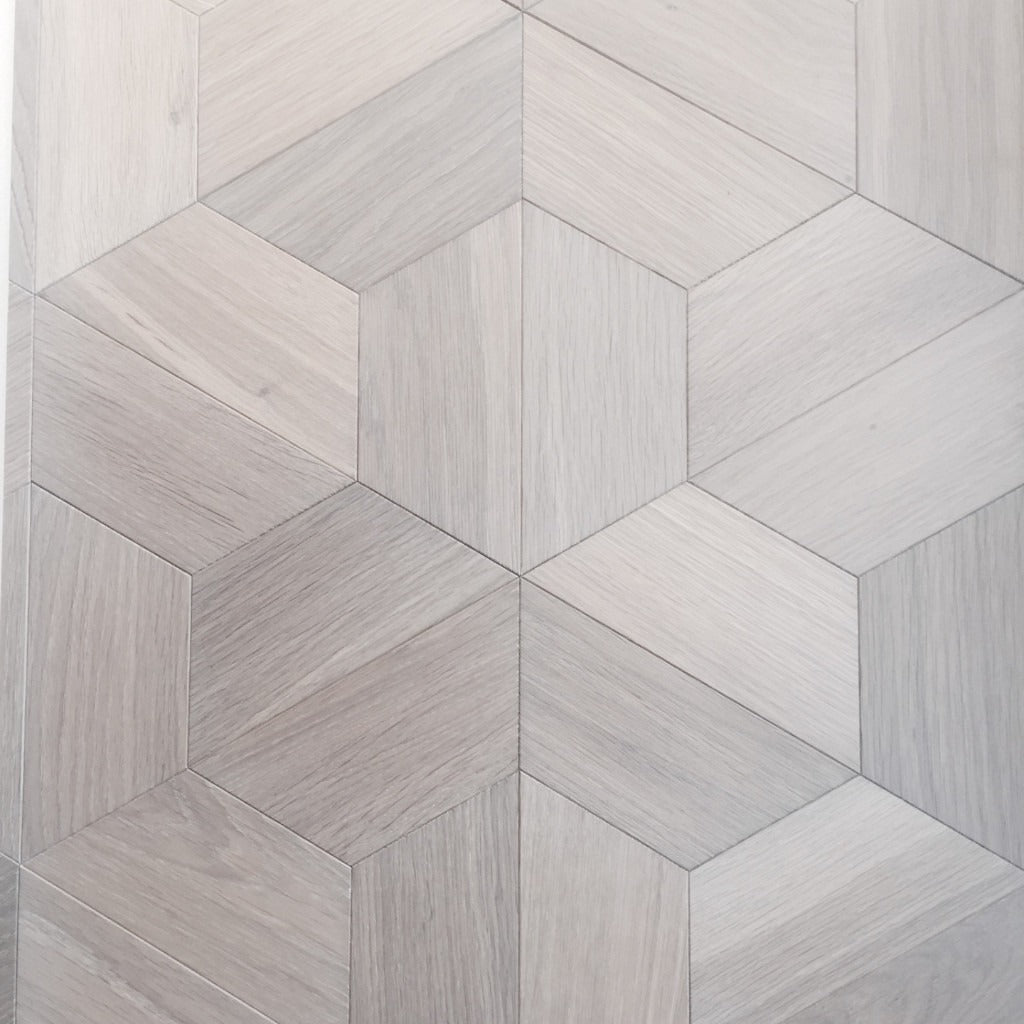 Oak Geometric Pattern Parquet