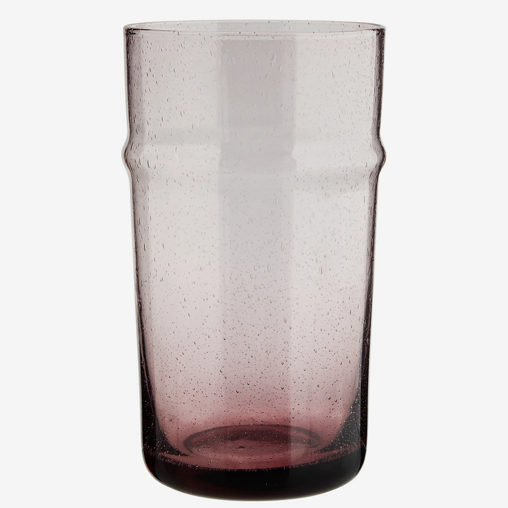Bubbled Drinking Glass - Large