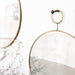 Loop Brass Mirror