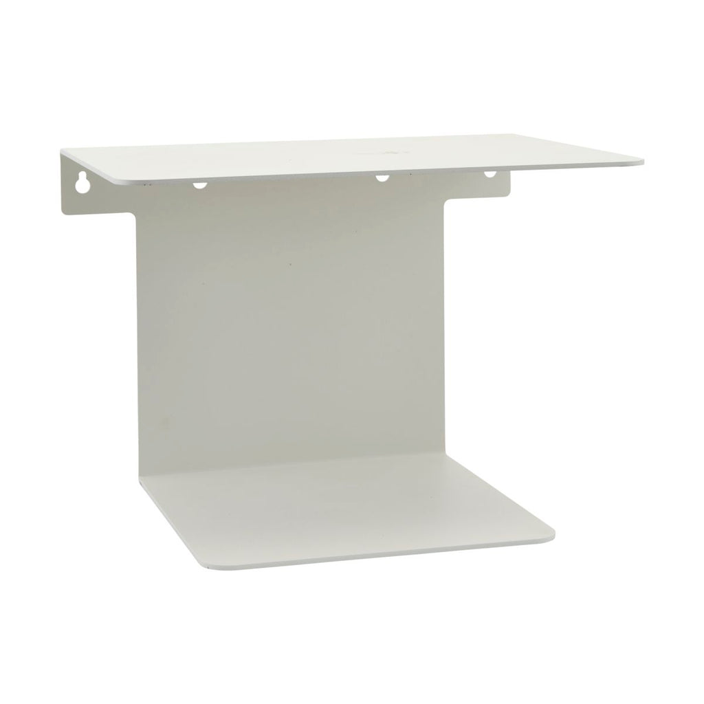 Metal Shelf in White