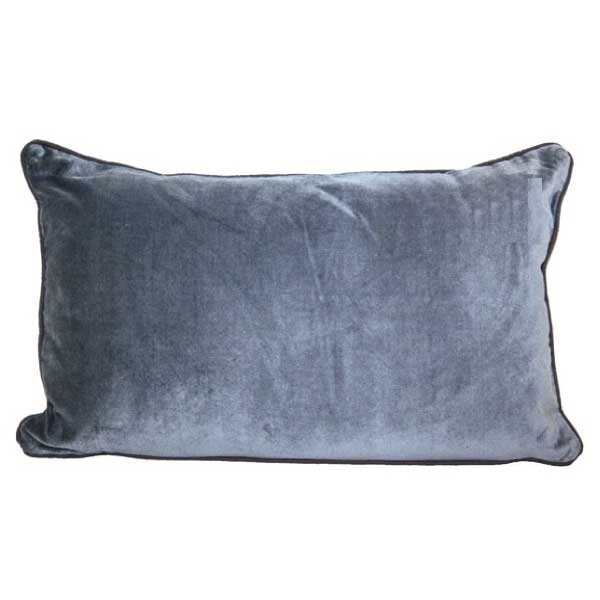 MALU Velvet Cushion 30x60 - Powder Blue